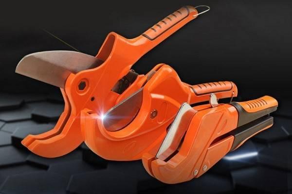 Ножницы для полипропиленовых труб, а также для пластиковых и металлопластиковых