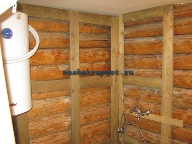 Душ в деревянном доме своими руками: гидроизоляция стен и пола