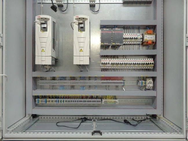 Щит управления вентиляцией: устройство, назначение + как правильно собрать
