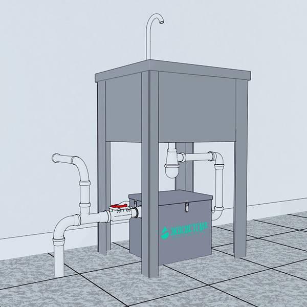 Особенности установки жироуловителя для канализации