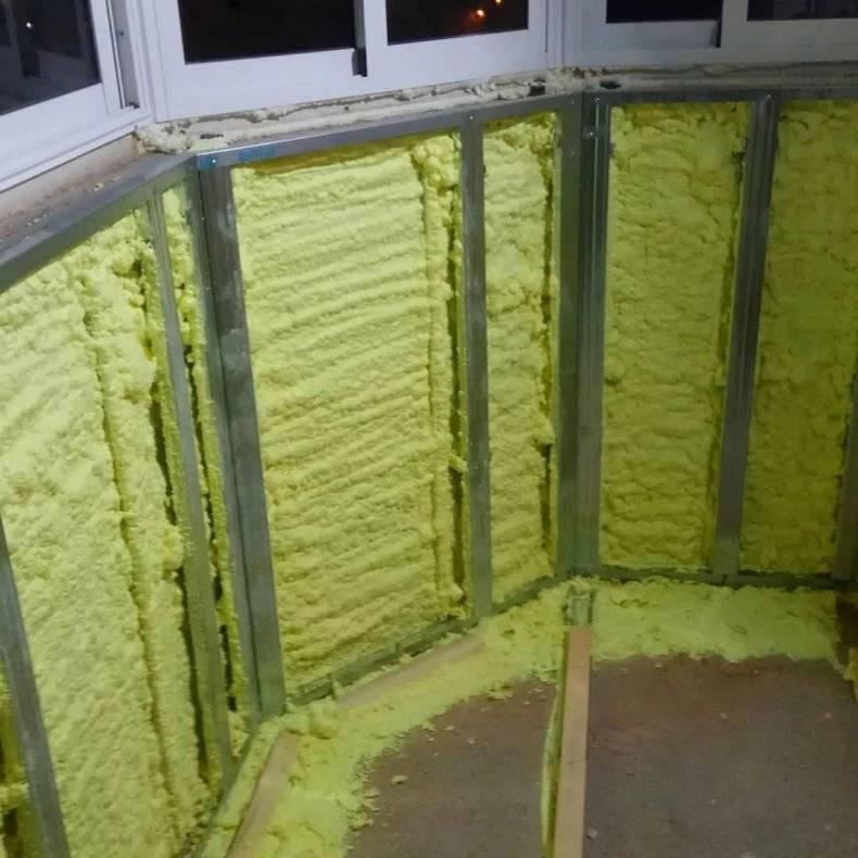 Как утеплить лоджию изнутри: пошаговая инструкция отделочных работ с фото и видео, стоимость теплоизоляции. как утеплить балкон своими руками пошаговое фото