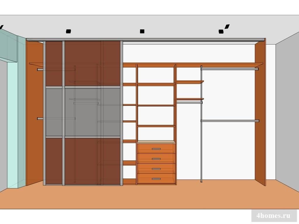 Встроенный шкаф своими руками: пошаговая инструкция и этапы изготовления как сделать встроенный тип шкафа