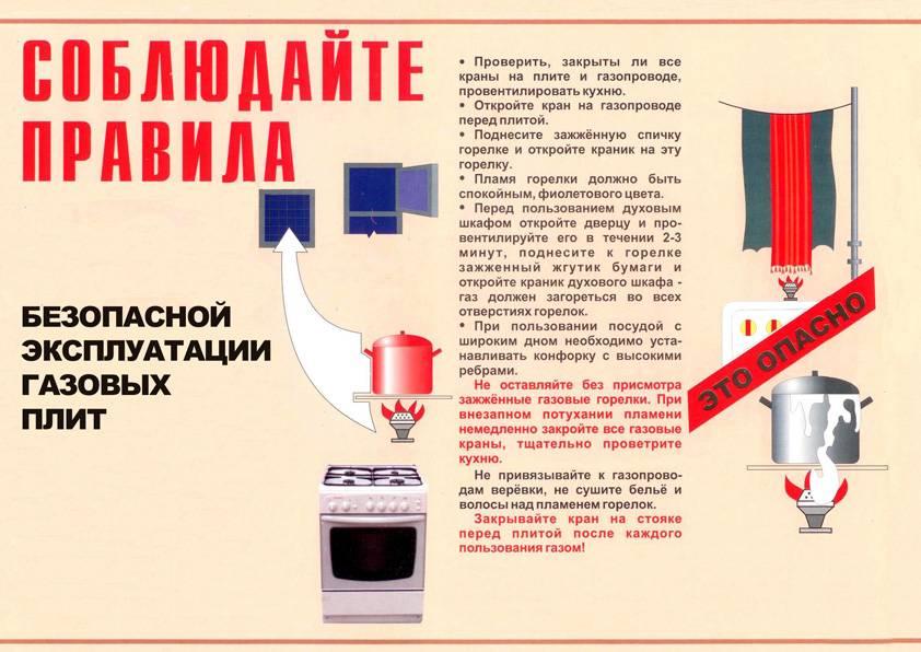 Правила пользования газом в быту: нормы эксплуатации газового оборудования в частных домах и городских квартирах