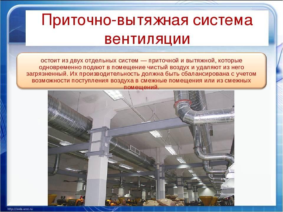 Очистка и дезинфекция воздуховодов системы вентиляции