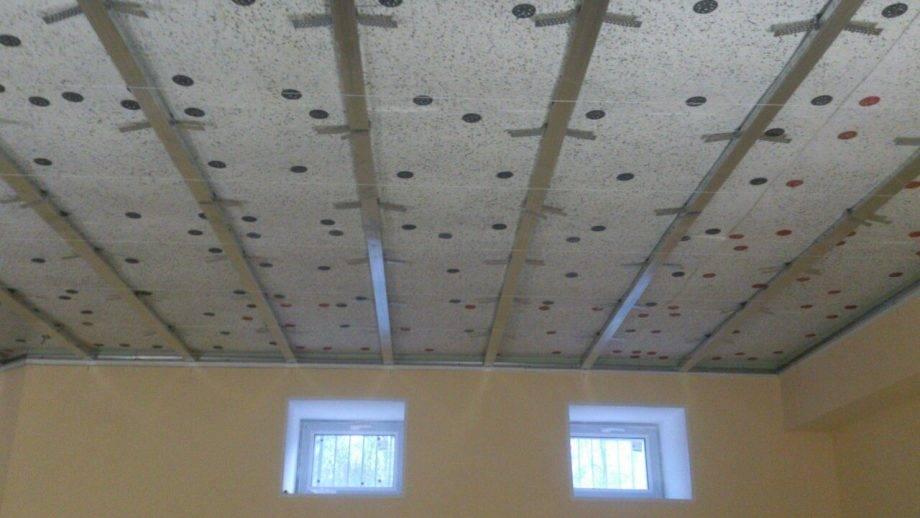 Шумоизоляция потолка в квартире под натяжной потолок - как сделать!