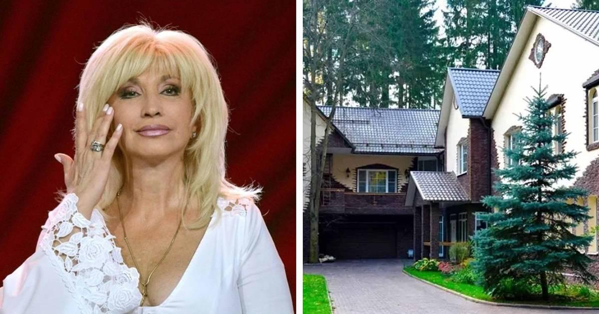 Цыганское барокко и леопардовый шик: посмотрите, в каких безвкусных домах живут российские звезды