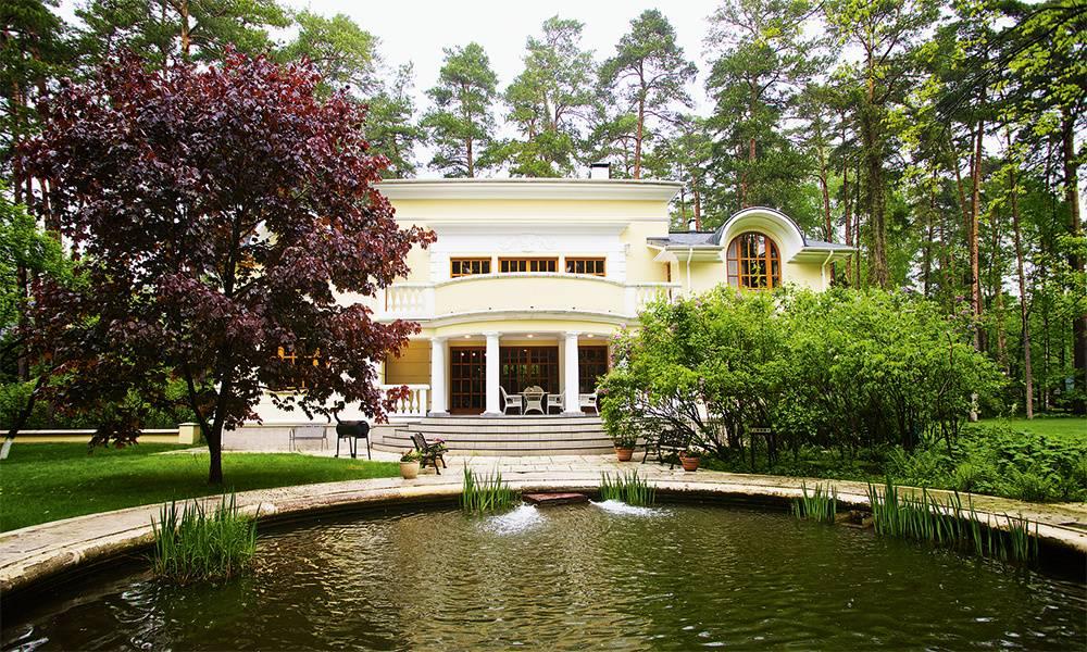 Как устроен дом никиты михалкова