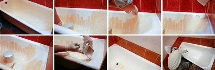 Восстановление ванны жидким акрилом: новая эмаль своими руками