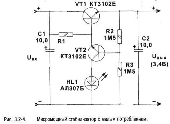 Простые линейные стабилизаторы тока для светодиодов своими руками