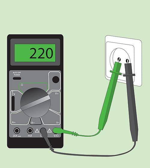 Всегда ли показывает напряжение в розетке при измерении мультиметром, и как лучше всего проверить силу тока?