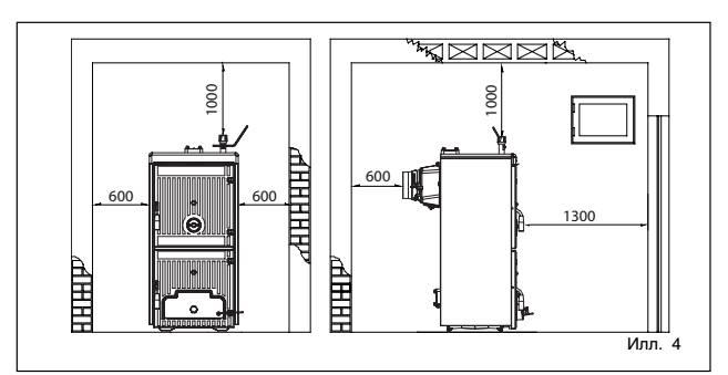 Общие требования к помещению для установки газового котла в частном доме