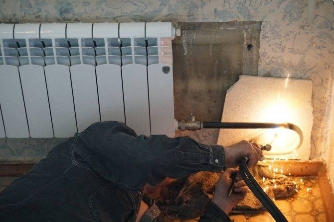 Почему замена батарей газосваркой лучший вариант ремонтных работ