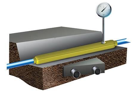 Контрольная трубка на газопроводе – искра газ
