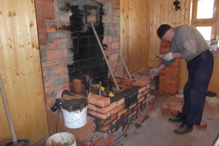 Камин своими руками из кирпича: обзор всех этапов сооружения камина для отопления частного дома, 90 фото проектов и схем