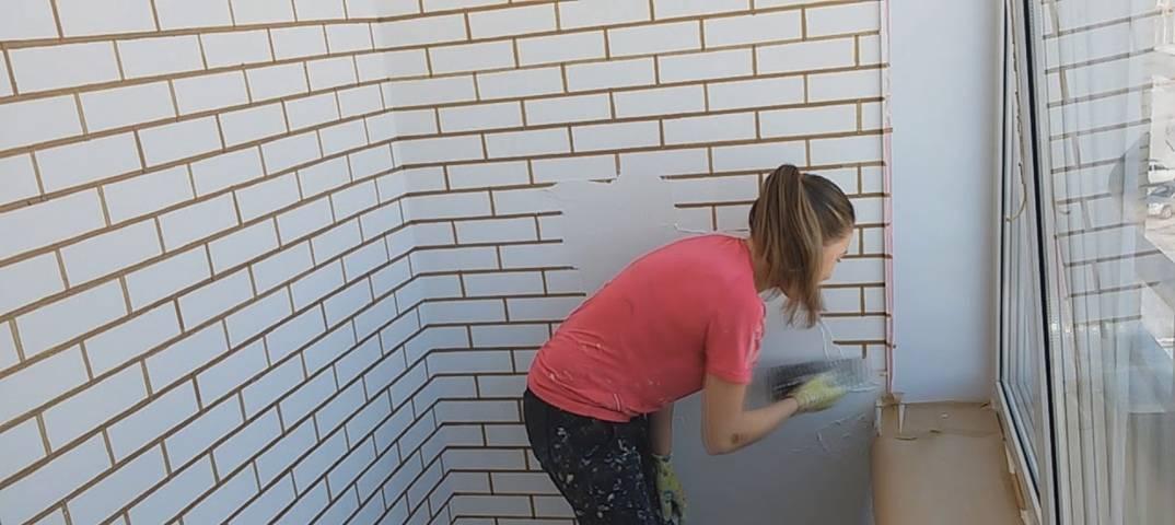 Имитация кирпичной стены своими руками — пошаговая инструкция от подготовительных до отделочных работ (120 фото)