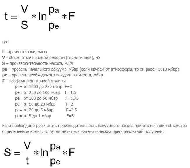 Калькулятор расчета производительности циркуляционного насоса с пояснениями - уютный дом