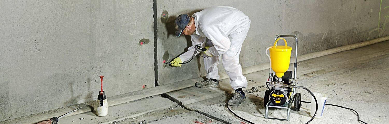 Инъектирование бетона и трещин бетонными инъекциями: технология – бетонпедия