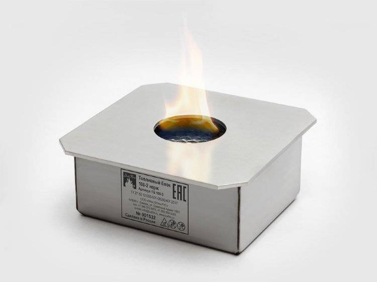 Какое топливо применяют для биокаминов