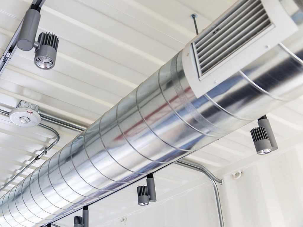 Системы вентиляции, назначение и виды