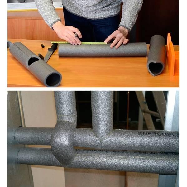 Утепление канализационных труб - чем и как правильно, виды утеплителей, как выбрать и правила укладки материала с фото и видео инструкцией