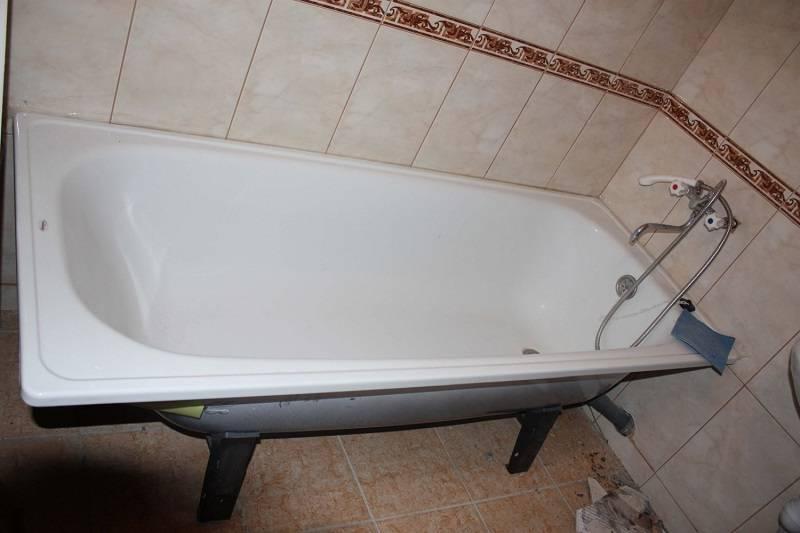 Поэтапная установка акриловой ванны своими руками