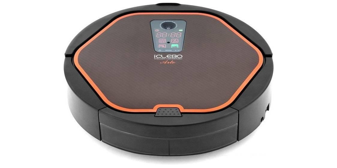 Робот-пылесос iclebo omega с режимами сухой и влажной уборки