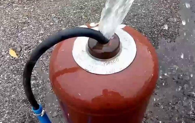 Как промыть газовый баллон: безопасные способы промывки ресивера