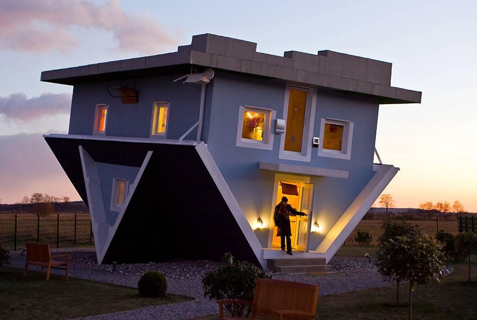 96 странных зданий в мире, которые показывают, где современные архитекторы не сдерживали свою фантазию