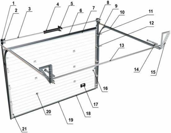 Изготовление гаражных подъемных ворот: видео советы, изготовление чертежа и установка ворот своими руками