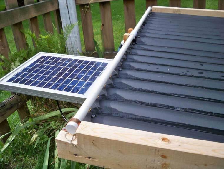 Изготовление солнечного коллектора своими руками, как сделать для отопления и душа