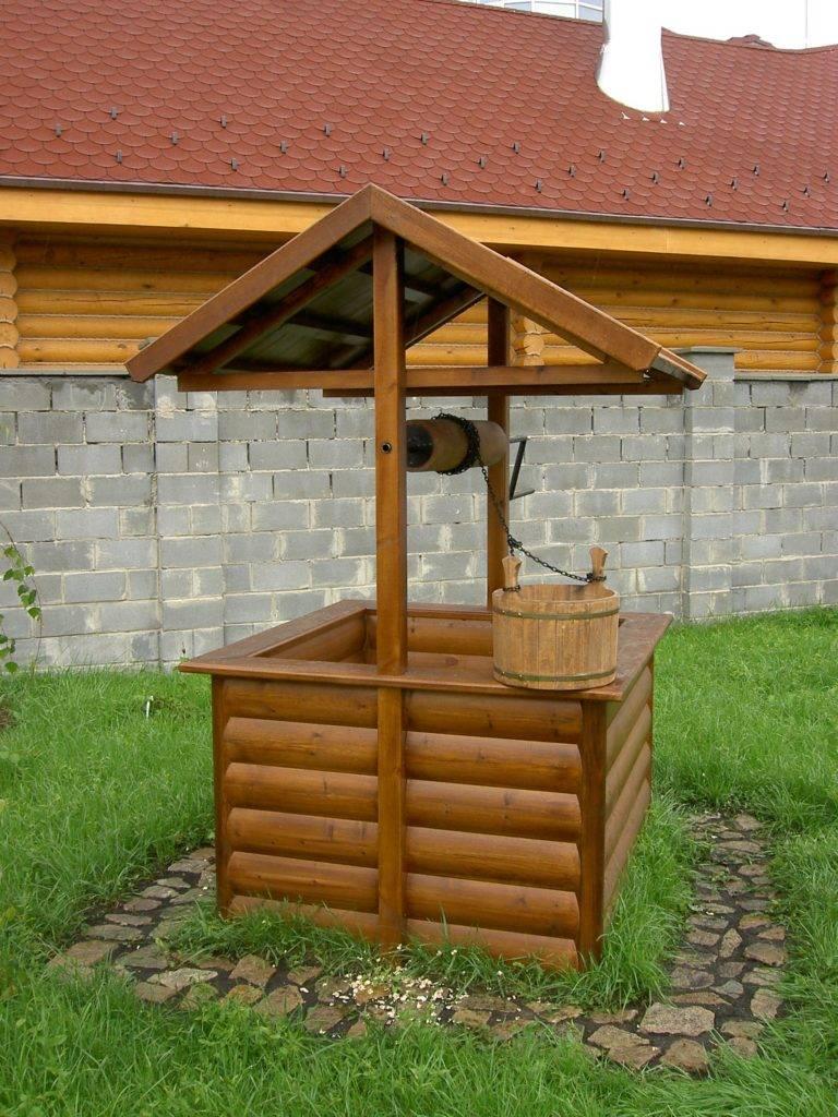 Как сделать колодец на даче своими руками деревянный, бетонный, кирпичный, декоративный — советы, пошаговая инструкция, фото, видео, схемы