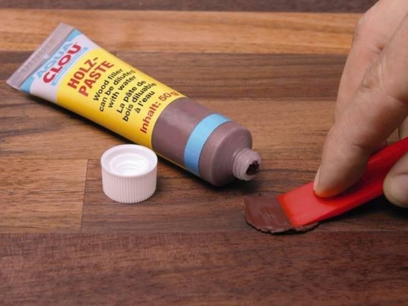 Как избавиться от царапин на мебели — накипь
