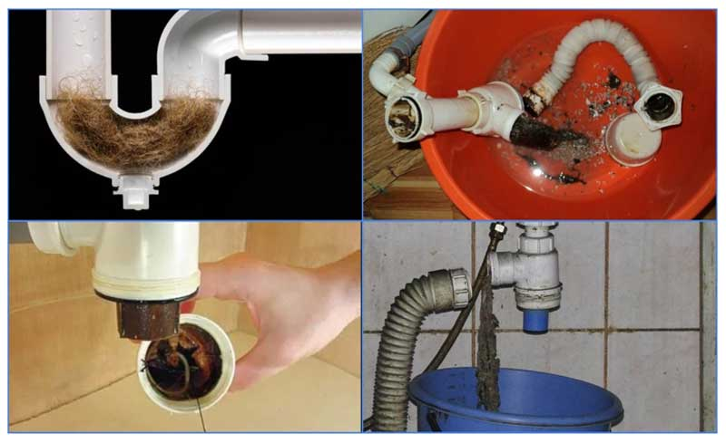 ???? современные способы прочистки труб от засоров: механические, химические, биологические