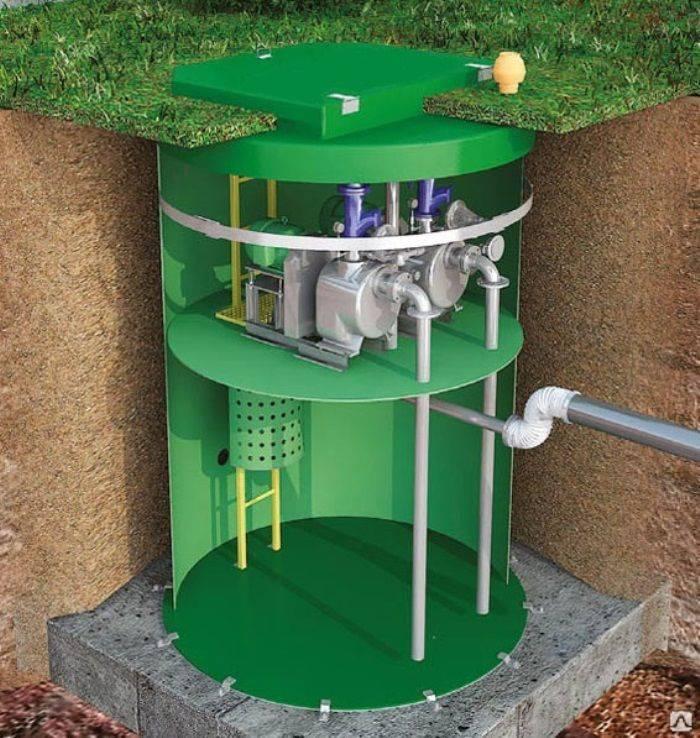 Кнс - это насосная станция, используемая для отведения сточных вод