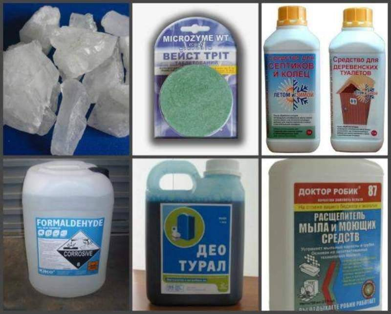Средство для канализационных ям - как и чем лучше очистить