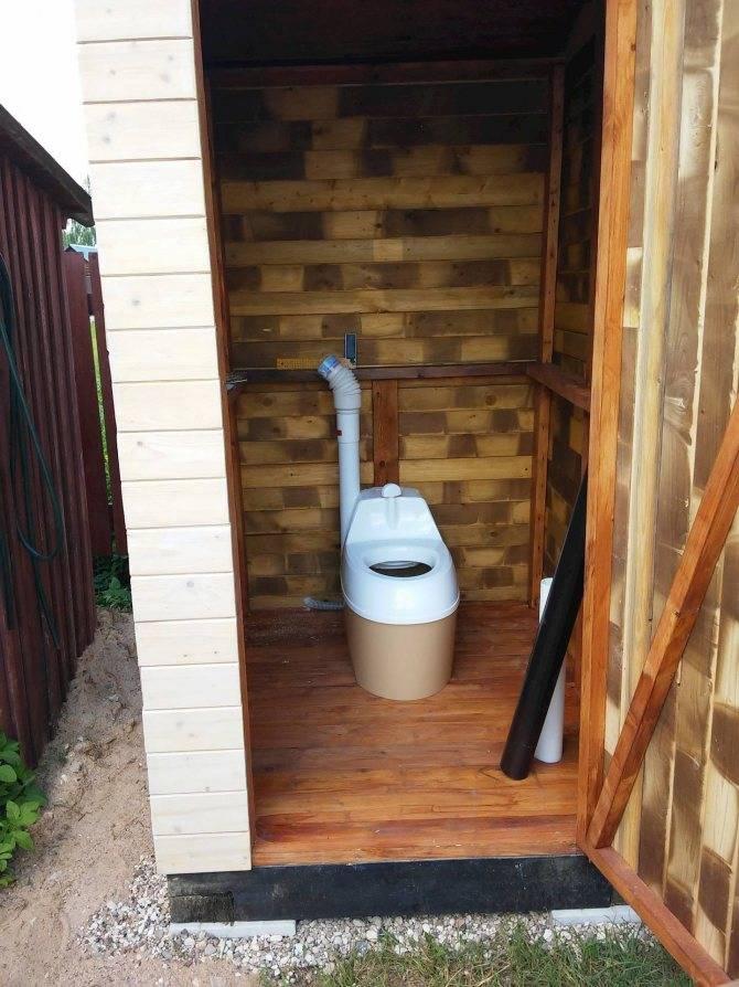 Торфяной биотуалет: все об автономной системе утилизации отходов