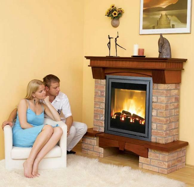 Как выбрать электрокамин для квартиры и дома?