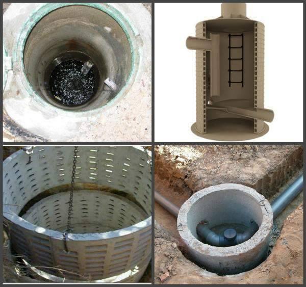 Устройство смотровых колодцев с заведением в дом. назначение и устройство канализационных колодцев. устройство канализационных колодцев из бетона