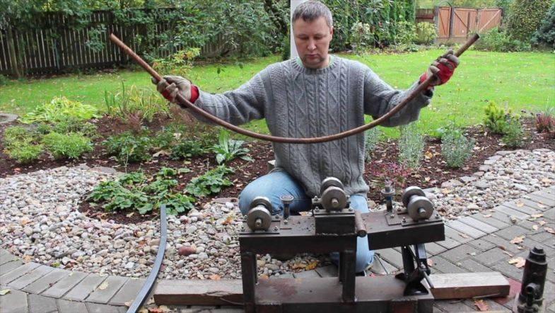 Как согнуть трубу из алюминия без трубогиба в домашних условиях своими руками