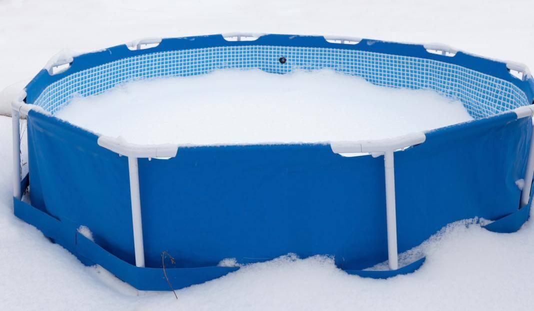 Как правильно хранить каркасный бассейн зимой, можно ли оставлять на улице?
