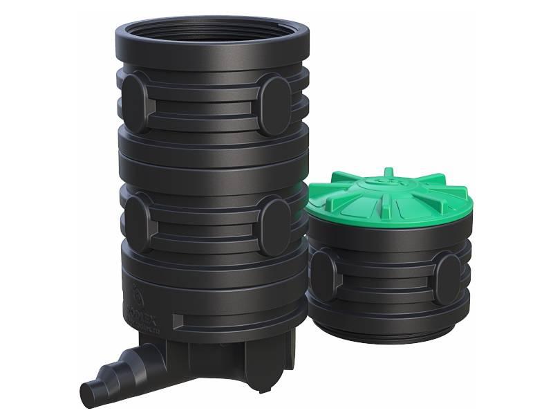 Поворотный колодец для канализации: виды, принцип установки | гидро гуру