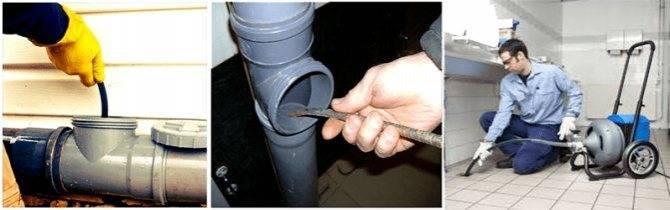Выбор лучшего средства для очистки канализационной трубы от засора