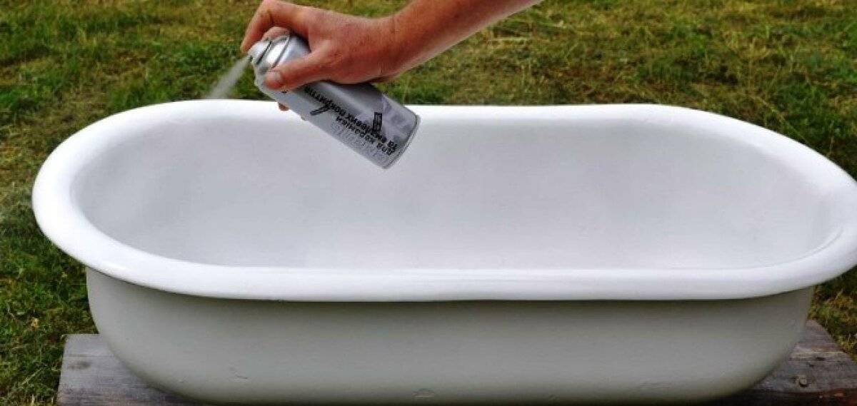 Реставрация ванны чугунной – как обновить старое изделие своими руками?
