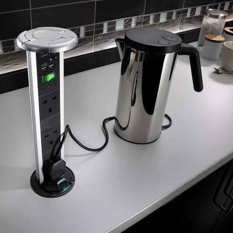 Высота розеток над столешницей на кухне: советы с примерами на какой высоте расположить розетки   houzz россия