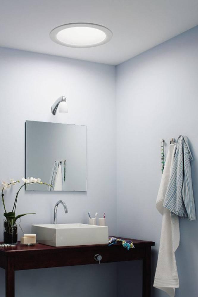 Светильники в ванную комнату (100 фото): виды, лучшие идеи в интерьере