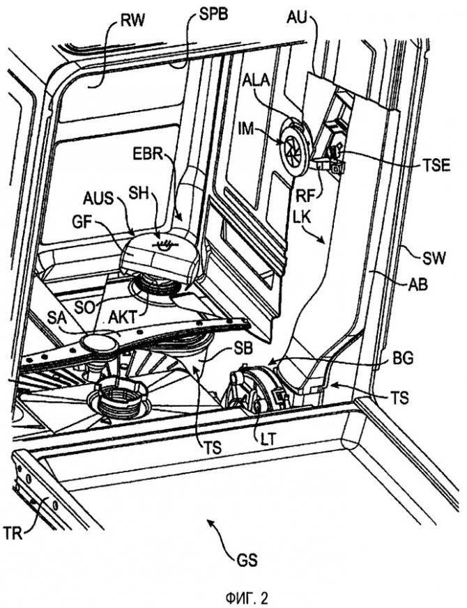 Конструкция и принцип работы посудомоечной машины: обзорный гайд - точка j