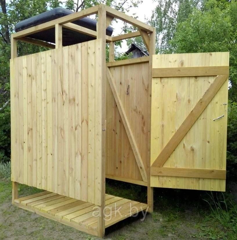 Строительство летнего душа для дачи своими руками - чертежи с размерами, фото - строительство и ремонт