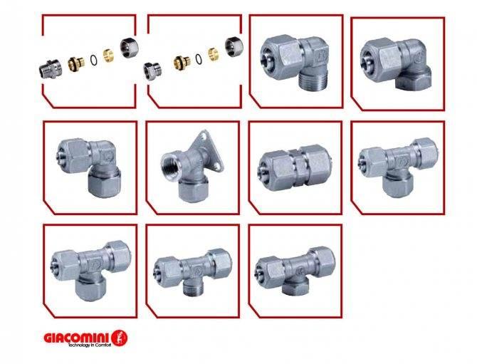 Как использовать пресс фитинги для металлопластиковых труб, правила монтажа