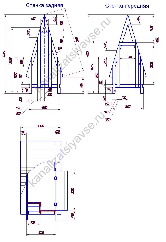 ✅ чертежи дачного деревянного туалета теремок для строительства своими руками: фото проектов с размерами - dnp-zem.ru