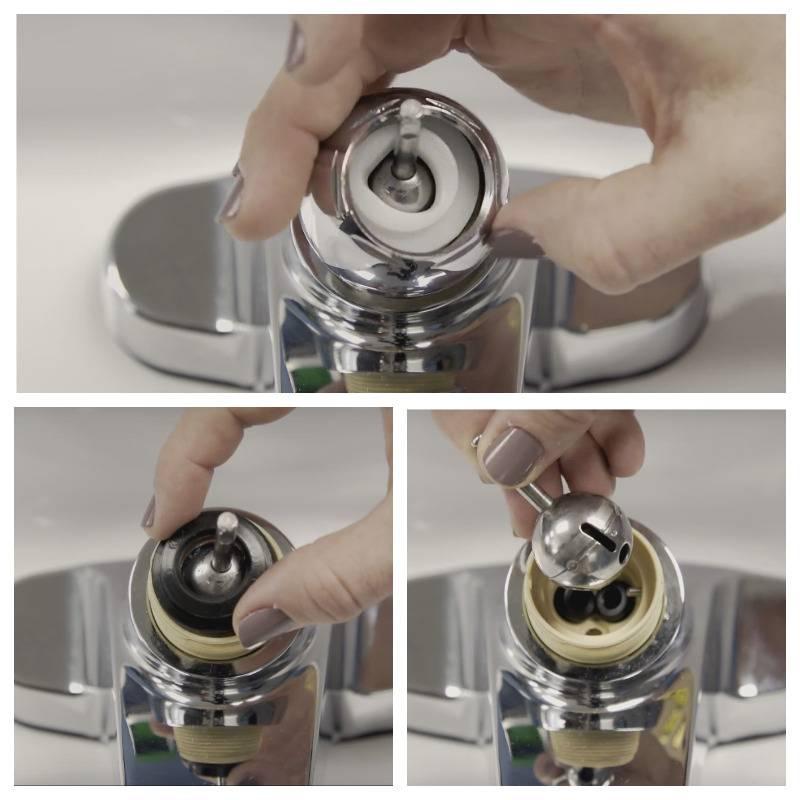 Как разобрать однорычажный смеситель при его ремонте или - учебник сантехника | partner-tomsk.ru